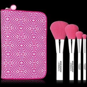 4 piece makeup brush set